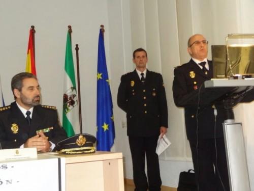 El Comisario Gral. de Sgdad. Ciudadana, Sr. Villabona