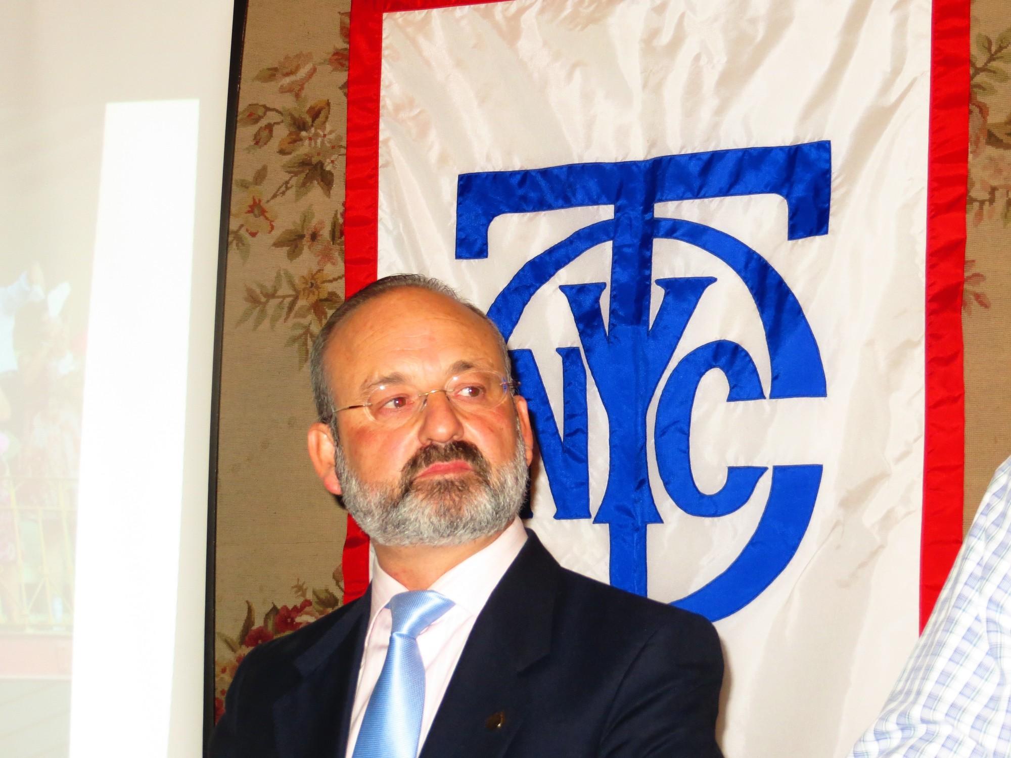 Benjamín Hernández Montanari, en New York